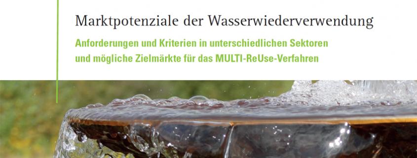 Marktpotenziale der Wasserwiederverwendung Bericht